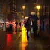 Rainy Night New York